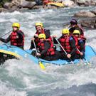 Colonie de vacances rafting