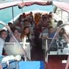 Colonie de vacances balade en bateau